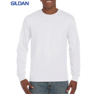 Gildan Hammer Adult Long Sleeve White